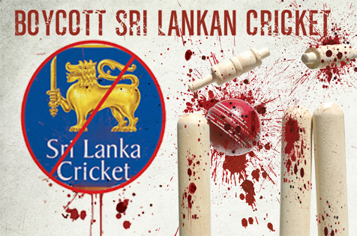 Boycott Sri Lankan Cricket